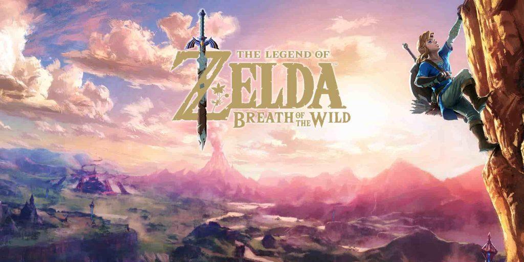 Legends of Zelda-Breath of the wild