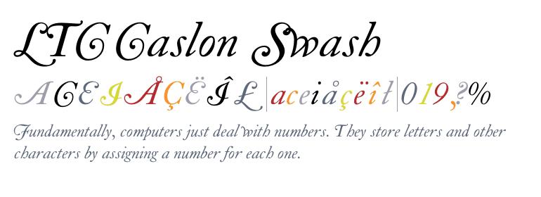 Caslon Swash