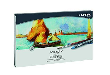 Lyra Aquacolor Crayons