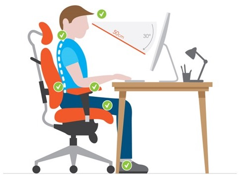 Ergonomic-Sitting-Position-on-Office-and-PC-Gaming-Chairs