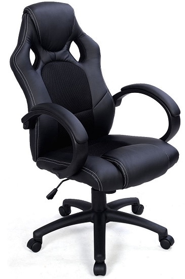 Giantex-High-Back-Race-Car-Style-Bucket-Seat-Office-Desk-Chair-Gaming-Chair