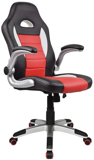 Homall-Racing-Chair-Ergonomic-High-Back-Gaming-Chair-PU-Leather-Bucket-Seat