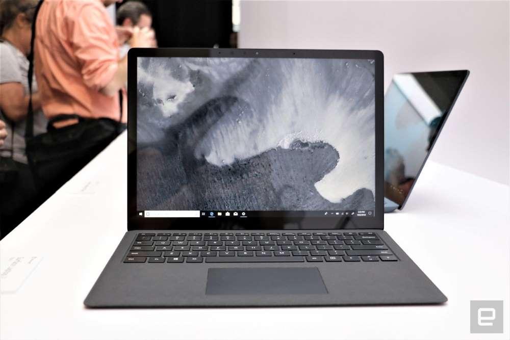 Microsoft surface laptop 3-15